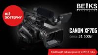 CANON XF705 - już dostępny w BEIKS